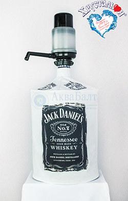 Декоративный чехол для бутыля (на помпу) - Jack Daniels