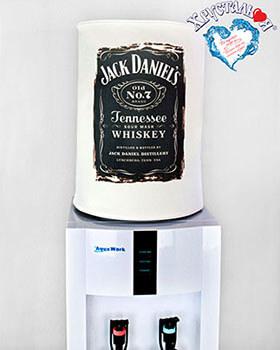 Декоративный чехол для бутыля (на диспенсер) - Jack Daniels
