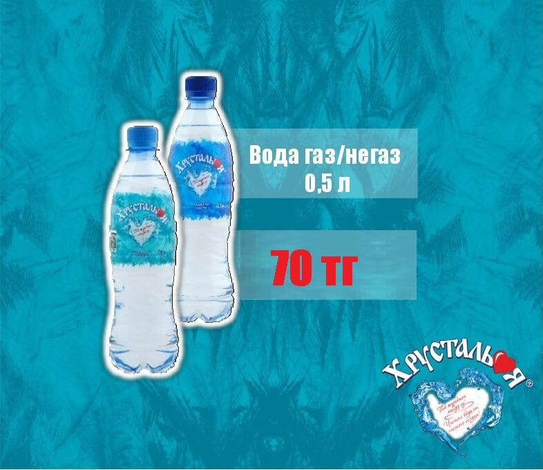 0,5 л (газ., негаз.)